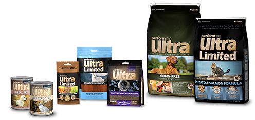 A collection of Performatrin Ultra products