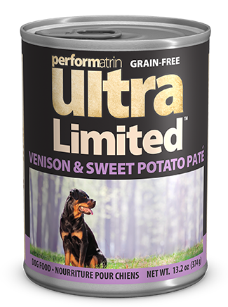 Performatrin Ultra Limited™ Ingredient Diet Venison & Sweet Potato Recipe Dog Food