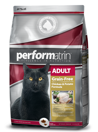 Performatrin ® Adult Grain-Free Chicken & Potato Formula Cat Food