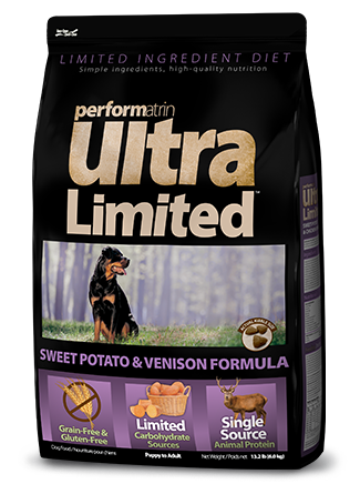 Performatrin Ultra Limited™ Sweet Potato & Venison Formula Dog Food