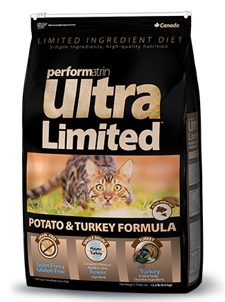 Performatrin Ultra Limited™ Potato & Turkey Formula Cat Food