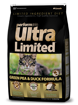 Performatrin Ultra Limited™ Green Pea & Duck Formula Cat Food