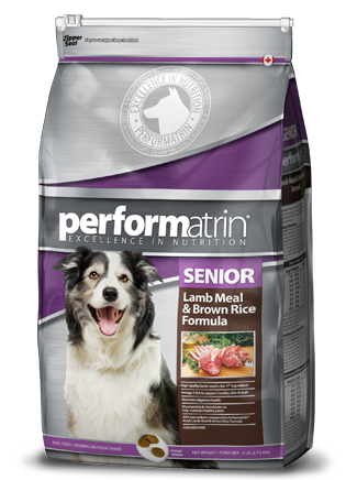 Performatrin ® Senior Lamb Meal & Brown Rice Formula Dog Food