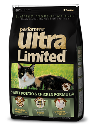 Performatrin Ultra Limited™ Sweet Potato & Chicken Formula Cat Food