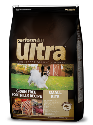 Performatrin Ultra ® Grain-Free Foothills Small Bite Recipe Dog Food
