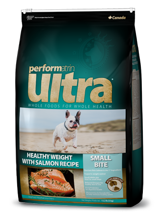 Performatrin Ultra ® Healthy Weight with Salmon Small Bite Recipe Dog Food