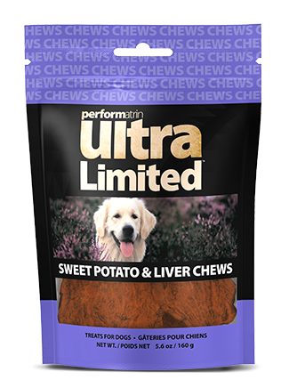Performatrin Ultra Limited™ Sweet Potato and Liver Chews