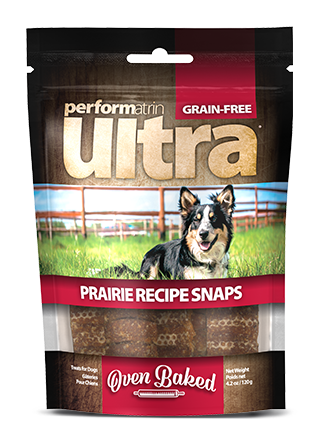 Performatrin Ultra® Grain-Free Prairie Recipe Snaps