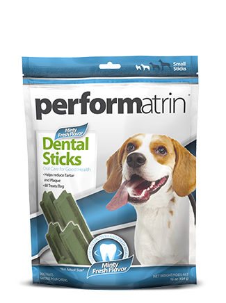 Performatrin® Minty Fresh Dental Sticks Small