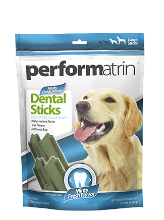 Performatrin® Minty Fresh Dental Sticks Large
