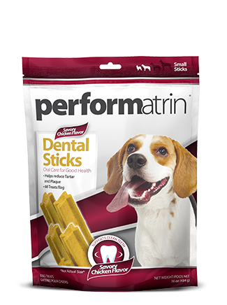 Performatrin® Dental Sticks Savory Chicken Flavor Small
