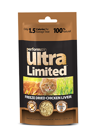 Performatrin Ultra Limited™ Freeze Dried Chicken Liver for Cats