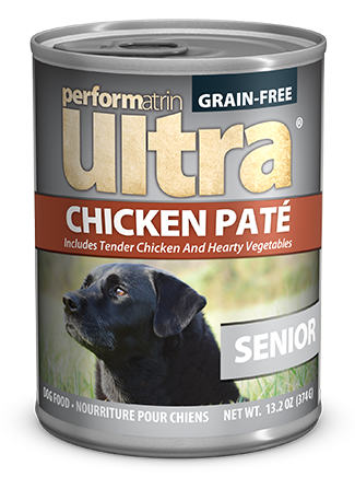 Performatrin Ultra ® Senior Grain-Free Chicken Pâté Dog Food