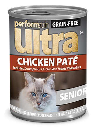 Performatrin Ultra ® Grain-Free Senior Chicken Pâté Cat Food