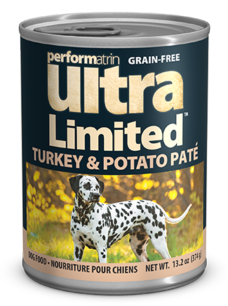 Performatrin Ultra Limited™ Turkey & Potato Pâté Dog Food