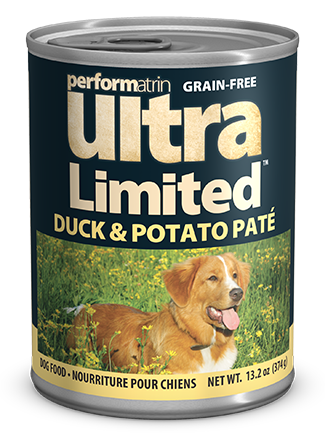Performatrin Ultra Limited™ Duck & Potato Pâté Dog Food