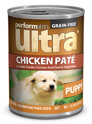 Performatrin Ultra ® Puppy Grain-Free Chicken Pâté Dog Food