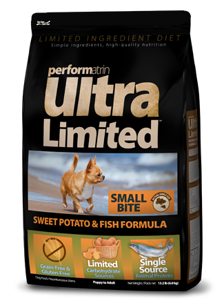 Performatrin Ultra Limited™ Sweet Potato & Fish Formula Small Bite