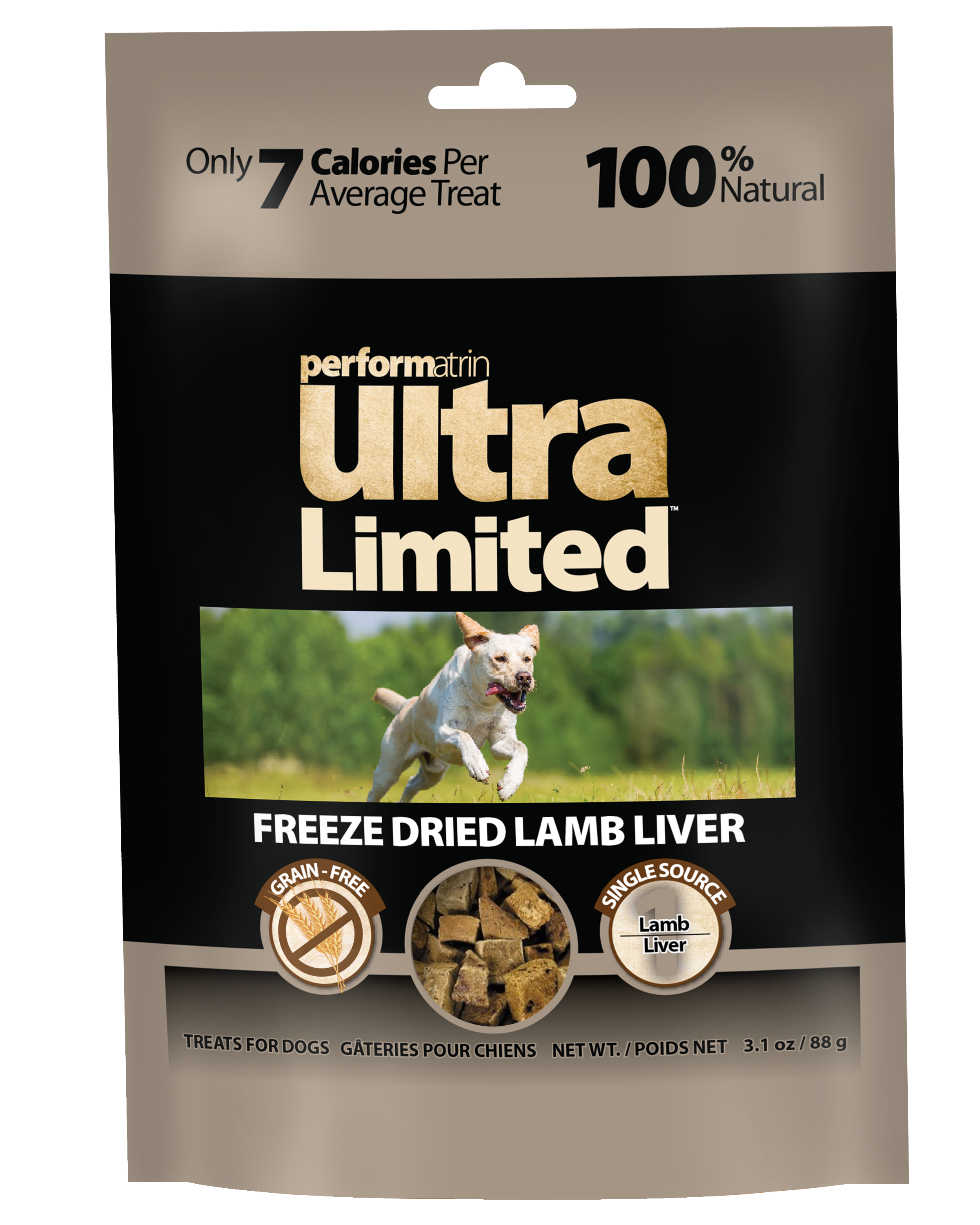 Performatrin Ultra Limited™  Freeze Dried Lamb Liver for Dogs