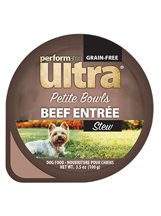 Performatrin Ultra® Petite Bowls Beef Entrée Stew Dog Food
