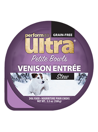 Performatrin Ultra® Petite Bowls Venison Entrée Stew Dog Food