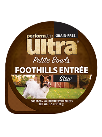 Performatrin Ultra® Petite Bowls Foothills Entrée Stew Dog Food