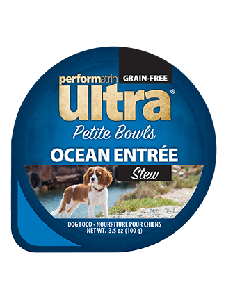 Performatrin Ultra® Petite Bowls Ocean Entrée Stew Dog Food