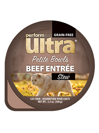 Performatrin Ultra® Petite Bowls Beef Entrée Stew Cat Food