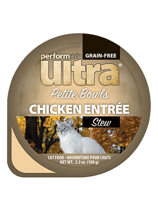 Performatrin Ultra® Petite Bowls Chicken Entrée Stew Cat Food